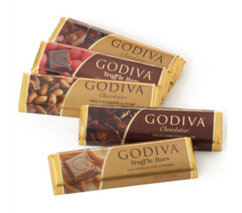 Godiva Classic Chocolate Bar Gift Set in Norristown PA, Plaza Flowers