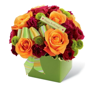 The Birthday Bouquet by FTD� - deluxe in Arlington VA, Twin Towers Florist