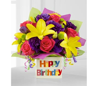 The Happy Birthday Bouquet by FTD� - deluxe in Arlington VA, Twin Towers Florist