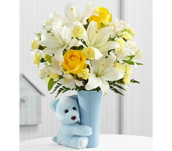 The FTD� Baby Boy Big Hug� Bouquet - deluxe in Arlington VA, Twin Towers Florist