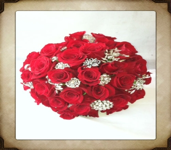Rose and Brooches in Yorba Linda CA, Garden Gate