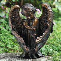 BRONZE BABY ANGEL in Oxford MI, A & A Flowers