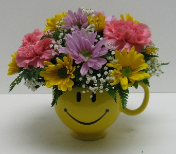 Cheerful Smile in Waverly NY, Jayne's Flower Shop