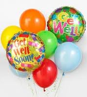 Get Well Balloon Bouquet in Bonita Springs FL, Bonita Blooms Flower Shop, Inc.