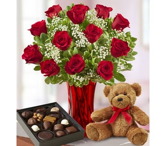 Abundant Love� Bundle in Concord CA, Jory's Flowers