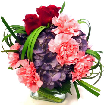 Petite Pinks and Purples  in Newport News VA, Pollards Florist