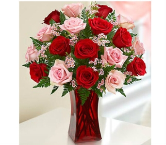 Shades of Pink and Red in Watertown CT, Agnew Florist