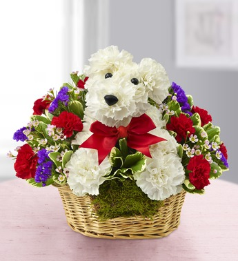 LOVE PUPS HIM  in Yelm WA, Yelm Floral