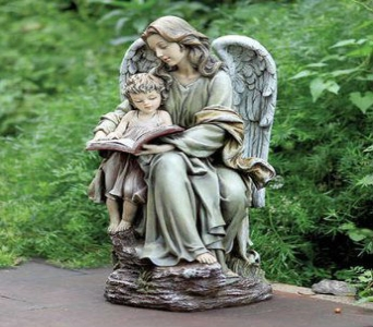 Angel & Child in Fort Wayne IN, Broadview Florist & Greenhouses