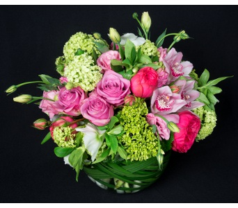 Bowl of Romance in New York NY, Starbright Floral Design