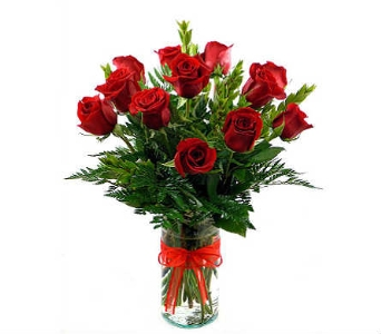 Steve's Medium Stemmed Red Roses in Indianapolis IN, Steve's Flowers and Gifts