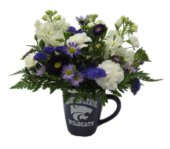 K-State Mug in Lawrence KS, Owens Flower Shop Inc.