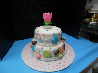 Candy Themed Birthday Cake in Gautier MS, Flower Patch Florist & Gifts