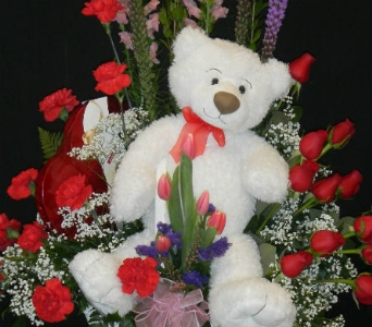 Premium Valentine Basket in Norwich NY, Pires Flower Basket, Inc.