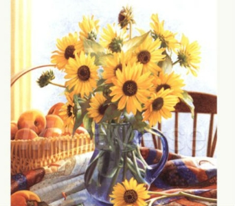 Bouquet of the Month - Vased in Traverse City MI, Teboe Florist