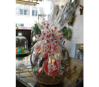 Chocolate Lover''s Basket in Charleston WV, Food Among The Flowers