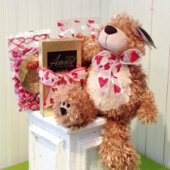 Valentine Plush & Candy in Hartland WI, The Flower Garden