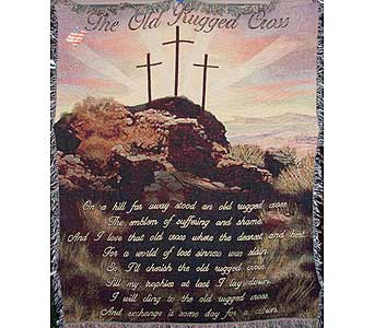The Old Rugged Cross in Brownsburg IN, Queen Anne's Lace Flowers & Gifts