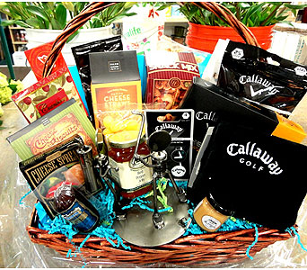 Golf & Gourmet Basket in Tampa FL, Buds Blooms & Beyond