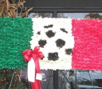 italian flag in New Rochelle NY, Enchanted Flower Boutique