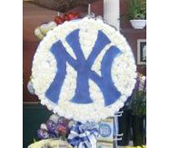 Yankees Logo in New Rochelle NY, Enchanted Flower Boutique