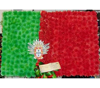 Portugese Flag in New Rochelle NY, Enchanted Flower Boutique