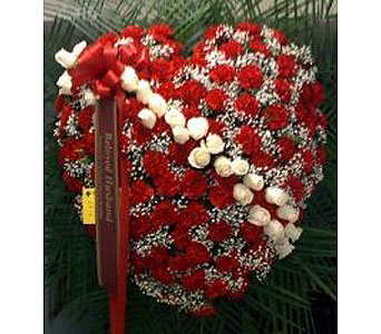 Red Rose Broken Heart in New Rochelle NY, Enchanted Flower Boutique