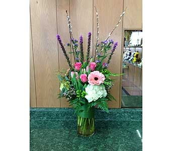 Fresh Vase Design 01 in Dorchester MA, Lopez The Florist