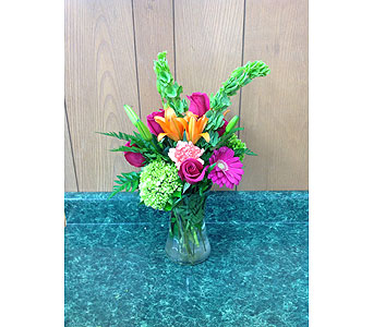 Fresh Vase Design 18 in Dorchester MA, Lopez The Florist