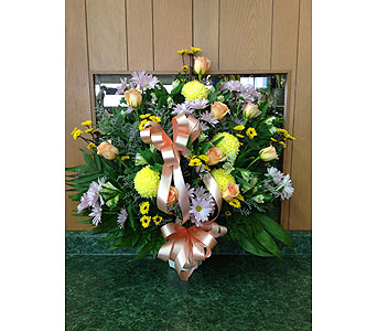 Tribute Basket 16 in Dorchester MA, Lopez The Florist
