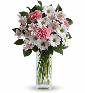 Sincerely Yours Bouquet by Teleflora in Gothenburg NE, Ribbons & Roses