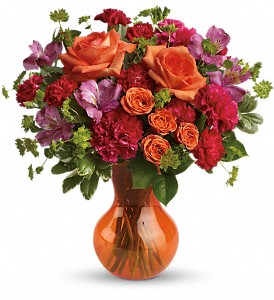 Teleflora's Fancy Free Bouquet in Rockledge FL, Carousel Florist Corporate Office