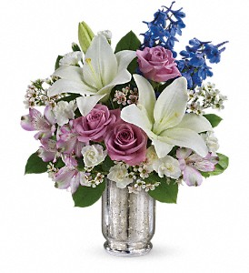 Teleflora's Garden Of Dreams Bouquet in Oakland MD, Green Acres Flower Basket
