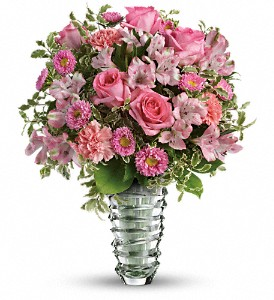 Teleflora's Rose Fantasy Bouquet in Savannah GA, Pink House Florist & Greenhouse