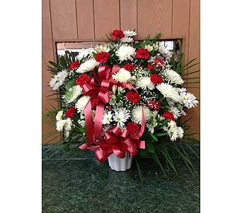 Tribue Basket 02 in Dorchester MA, Lopez The Florist
