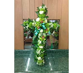Tribute Cross 02 in Dorchester MA, Lopez The Florist