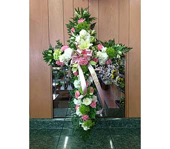 Tribute Cross 01 in Dorchester MA, Lopez The Florist