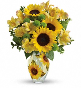 Teleflora's Soak Up The Sun Bouquet in Rock Island IL, Colman Florist