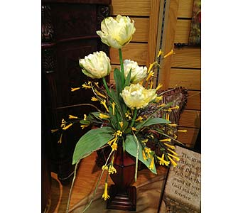 Dainty Silk Arrangement in New Castle PA, Butz Flowers & Gifts