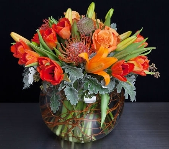 Spring Sunrise in La Jolla CA, Adelaide's Florists and Decorators