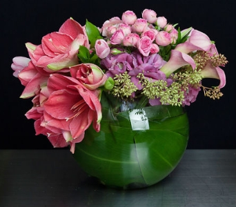 Pink Spring Dream in La Jolla CA, Adelaide's Florists and Decorators