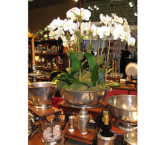 Large Pewter Bowls in Blue Bell PA, Country Flower Shoppe