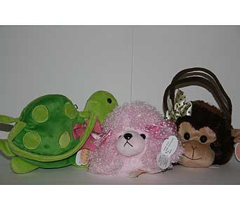 Bearington Bear animal purses in Moorestown NJ, Moorestown Flower Shoppe