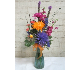 Spring Garden Bouquet in Moorhead MN, Country Greenery