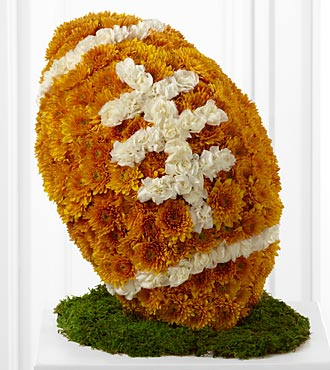Welch's Football Fan For Sympathy in Lynn MA, Welch Florist