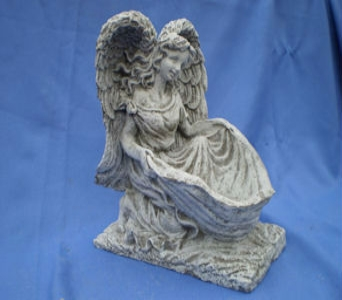 angel skirt bowl in Dover OH, Baker Florist, LLC