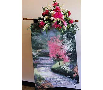 Afternoon Light Tapestry by Thomas Kinkade in Nashville TN, Flowers By Louis Hody