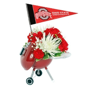 Weber Grill Tailgate Bouquet in Columbus OH, OSUFLOWERS .COM
