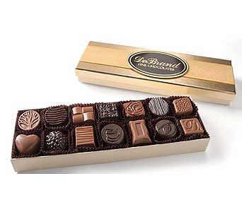 14 piece asst DeBrand Chocolates in Huntington IN, Town & Country Flowers & Gifts