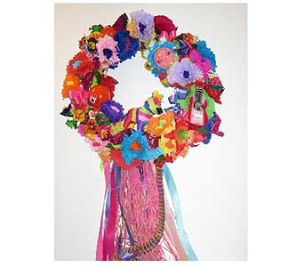 Fiesta Wreath in San Antonio TX, Allen's Flowers & Gifts